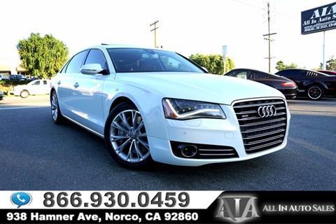 Audi A8 For Sale  Carsforsalecom