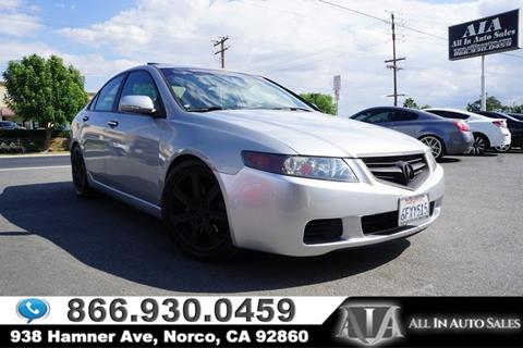 Acura TSX For Sale In Denver NC Carsforsalecom - Acura tsx 2004 for sale