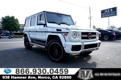 Used 2013 Mercedes Benz G Class For Sale Carsforsale Com