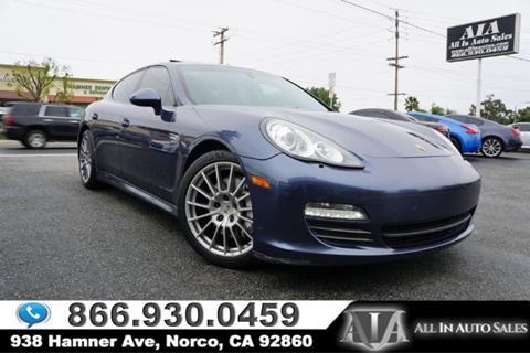 2013 Porsche Panamera for sale in Norco, CA