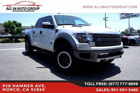 2011 Ford F-150 for sale in Norco, CA