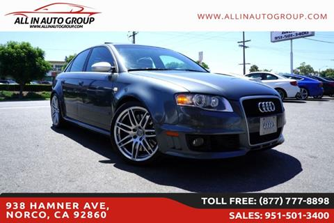 2007 Audi RS 4 for sale in Norco, CA