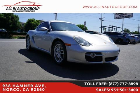 2007 Porsche Cayman for sale in Norco, CA