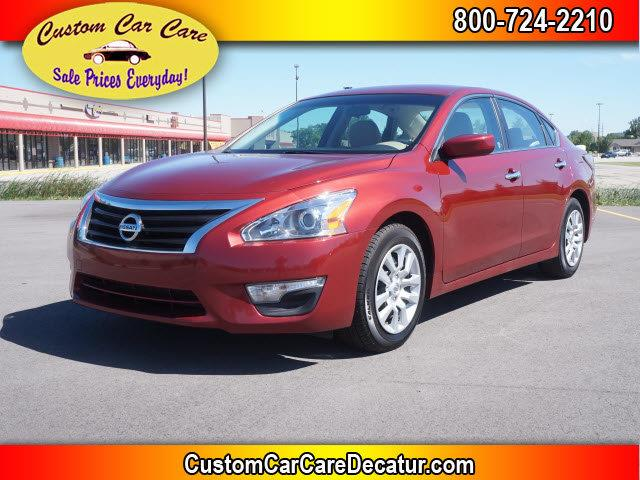 2015 Nissan Altima for sale at Custom Car Care in Decatur IN