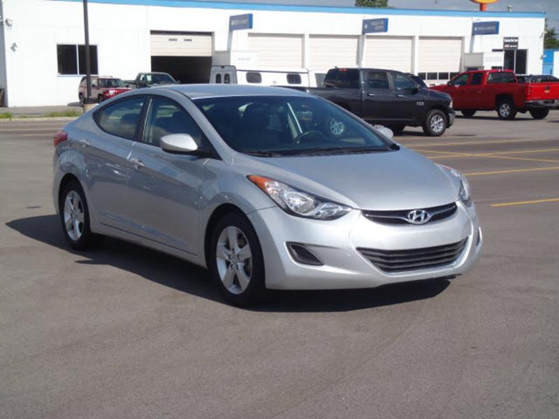 2013 Hyundai Elantra for sale at Custom Car Care in Decatur IN