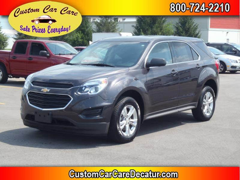 2016 Chevrolet Equinox for sale at Custom Car Care in Decatur IN
