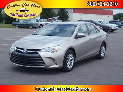 2016 Toyota Camry Hybrid for sale in Decatur, IN