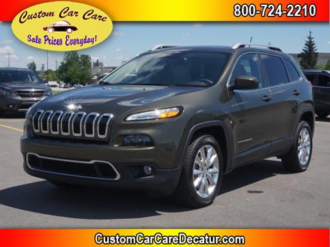 2015 Jeep Cherokee for sale in Decatur, IN