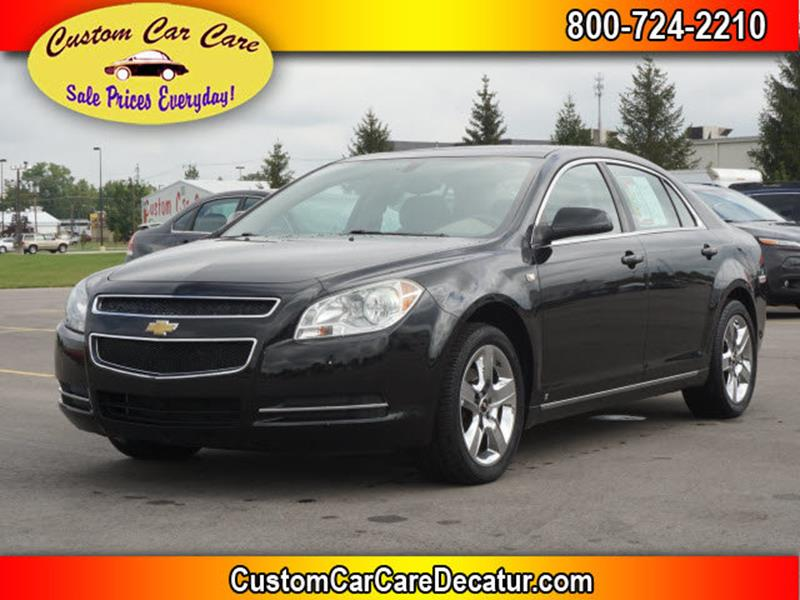2008 Chevrolet Malibu for sale at Custom Car Care in Decatur IN