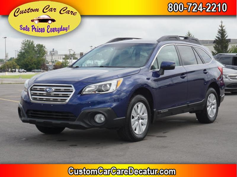 2015 Subaru Outback for sale at Custom Car Care in Decatur IN
