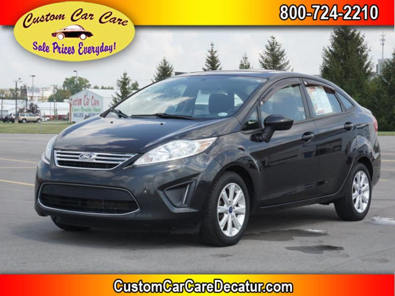 2011 Ford Fiesta for sale at Custom Car Care in Decatur IN