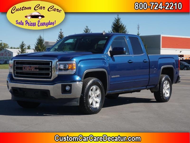 2015 GMC Sierra 1500 for sale at Custom Car Care in Decatur IN