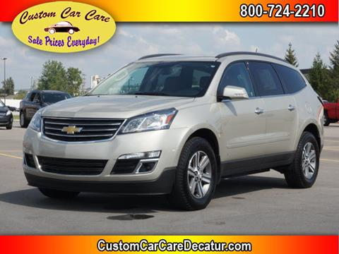 2016 Chevrolet Traverse for sale at Custom Car Care in Decatur IN
