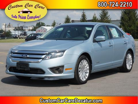 2011 Ford Fusion Hybrid for sale at Custom Car Care in Decatur IN