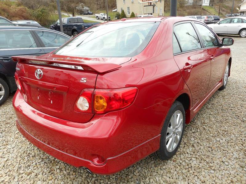 2009 Toyota Corolla for sale at Sleepy Hollow Motors in New Eagle PA