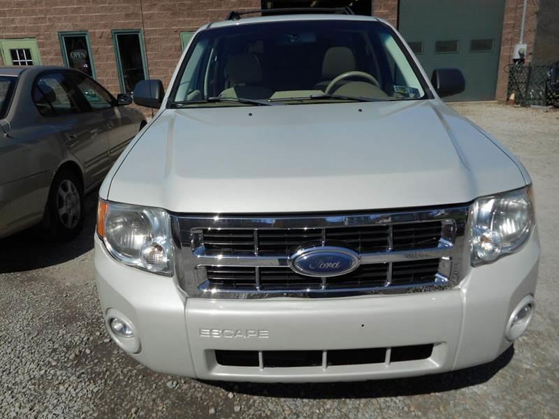 2008 Ford Escape for sale at Sleepy Hollow Motors in New Eagle PA