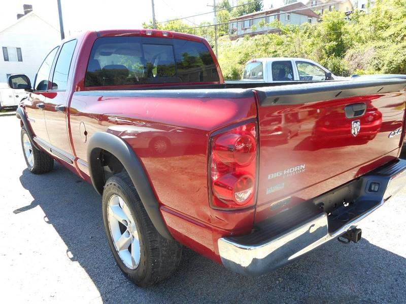 2007 Dodge Ram Pickup 1500 for sale at Sleepy Hollow Motors in New Eagle PA