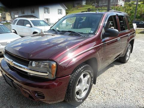 2006 Chevrolet TrailBlazer for sale at Sleepy Hollow Motors in New Eagle PA