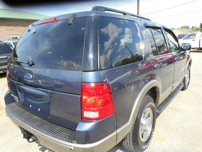 2002 Ford Explorer for sale at Sleepy Hollow Motors in New Eagle PA