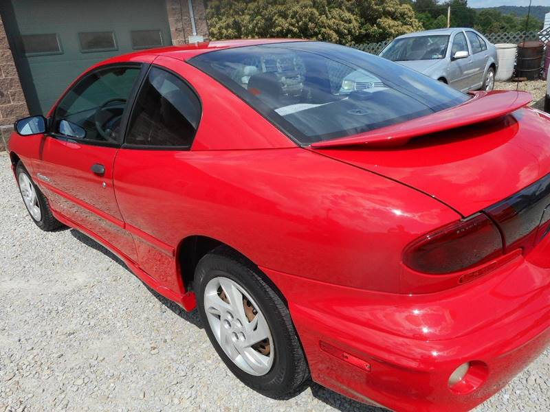 2001 Pontiac Sunfire for sale at Sleepy Hollow Motors in New Eagle PA