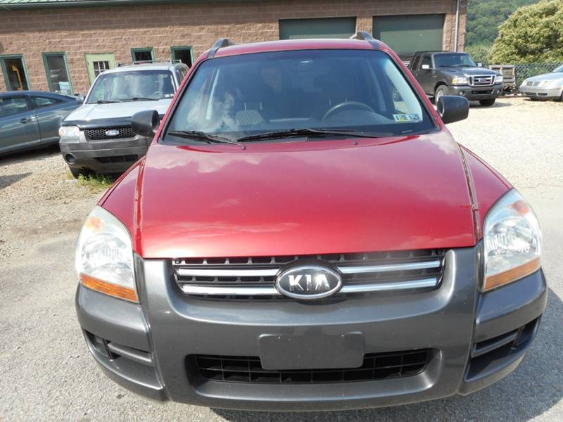 2007 Kia Sportage for sale at Sleepy Hollow Motors in New Eagle PA