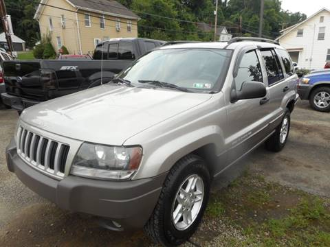 2004 Jeep Grand Cherokee for sale at Sleepy Hollow Motors in New Eagle PA