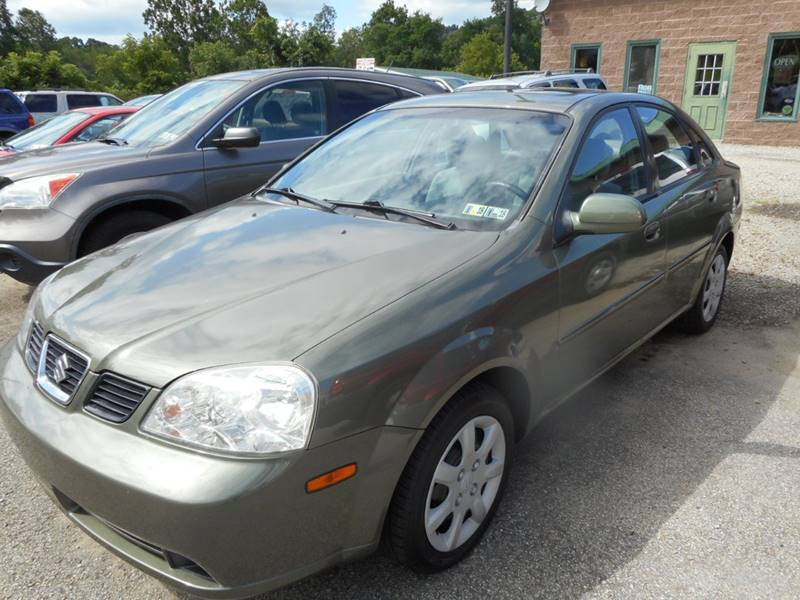 2004 Suzuki Forenza for sale at Sleepy Hollow Motors in New Eagle PA