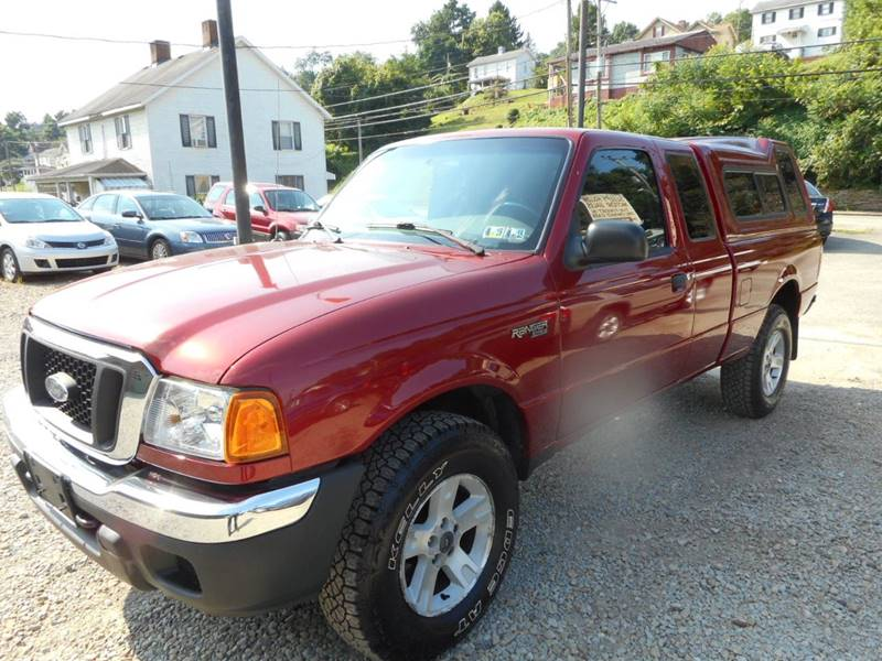 2004 Ford Ranger for sale at Sleepy Hollow Motors in New Eagle PA