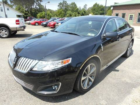 2009 Lincoln MKS for sale at Sleepy Hollow Motors in New Eagle PA
