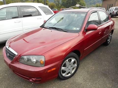 2004 Hyundai Elantra for sale at Sleepy Hollow Motors in New Eagle PA