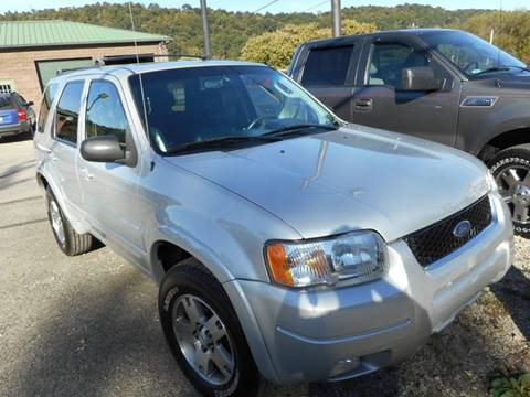 2004 Ford Escape for sale at Sleepy Hollow Motors in New Eagle PA