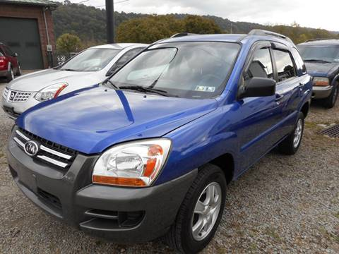 2008 Kia Sportage for sale at Sleepy Hollow Motors in New Eagle PA