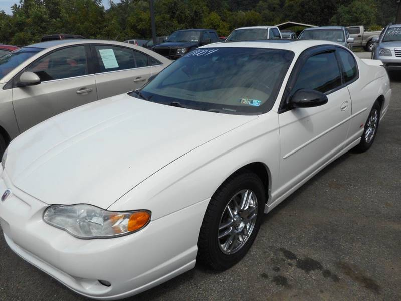 2004 Chevrolet Monte Carlo For Sale At Sleepy Hollow Motors In New Eagle PA