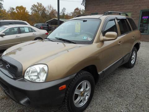 2001 Hyundai Santa Fe for sale in New Eagle, PA