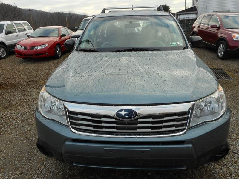 2009 Subaru Forester for sale at Sleepy Hollow Motors in New Eagle PA