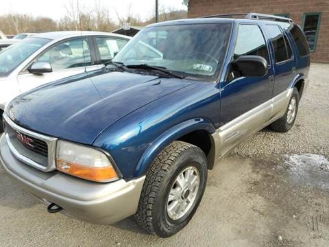 2000 GMC Jimmy for sale at Sleepy Hollow Motors in New Eagle PA