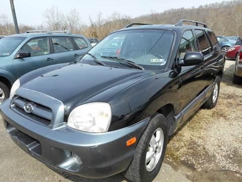 2005 Hyundai Santa Fe for sale at Sleepy Hollow Motors in New Eagle PA