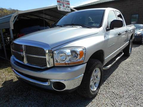 2006 Dodge Ram Pickup 1500 for sale at Sleepy Hollow Motors in New Eagle PA