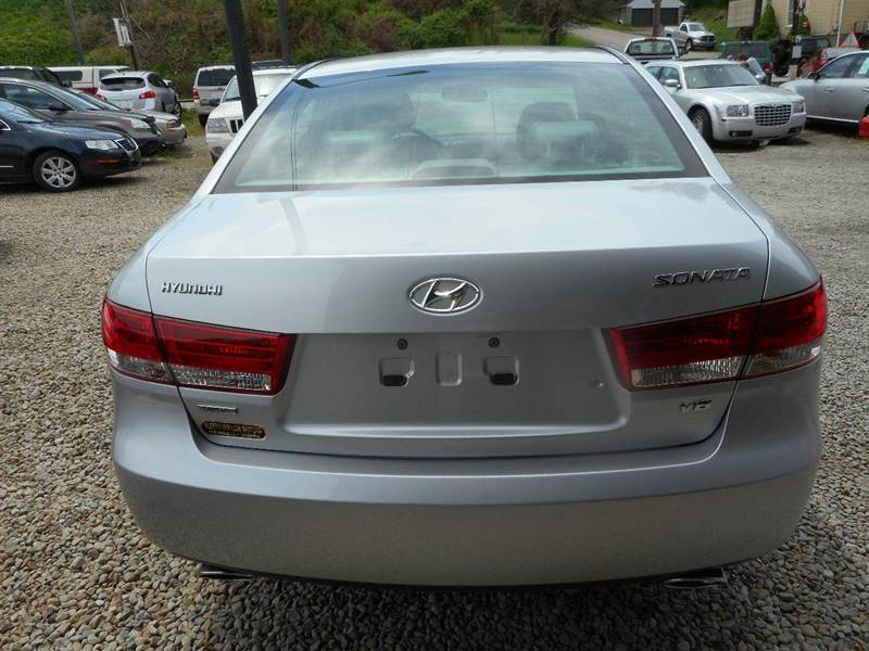 2007 Hyundai Sonata for sale at Sleepy Hollow Motors in New Eagle PA