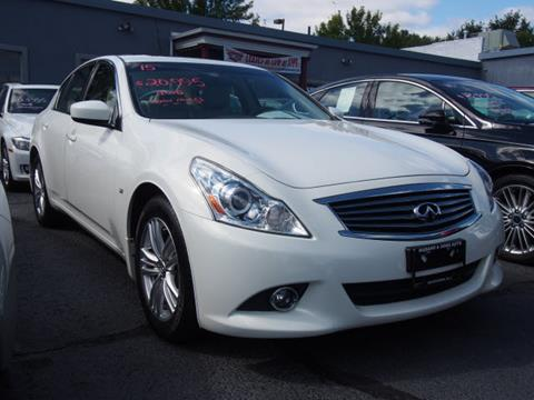 Used 2015 Infiniti Q40 For Sale In New Jersey Carsforsale