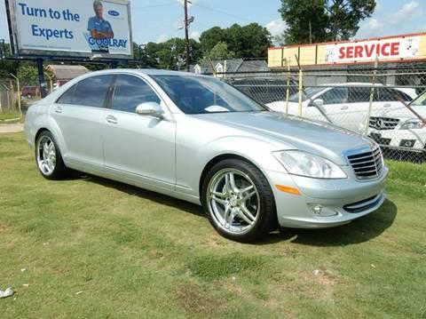 2007 Mercedes-Benz S-Class for sale at Atlanta Fine Cars in Jonesboro GA