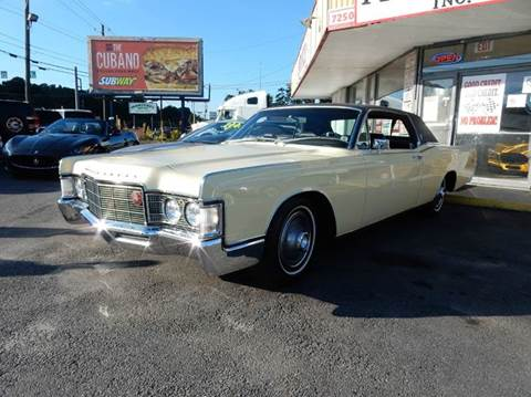 1969 lincoln continental for sale in port saint lucie, fl