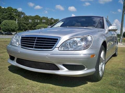 Used 2006 mercedes benz s class for sale in georgia for Mercedes benz s550 for sale in atlanta ga