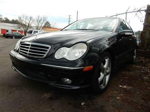 2006 Mercedes-Benz C-Class for sale at Atlanta Fine Cars in Jonesboro GA