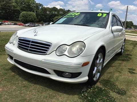 2007 Mercedes-Benz C-Class for sale at Atlanta Fine Cars in Jonesboro GA