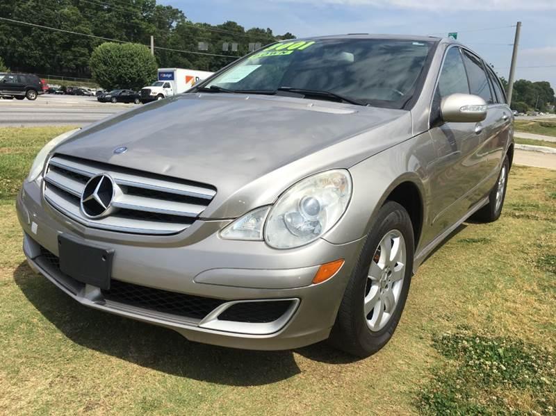 2007 Mercedes-Benz R-Class for sale at Atlanta Fine Cars in Jonesboro GA