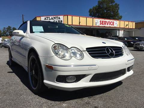 2005 Mercedes-Benz CLK for sale at Atlanta Fine Cars in Jonesboro GA