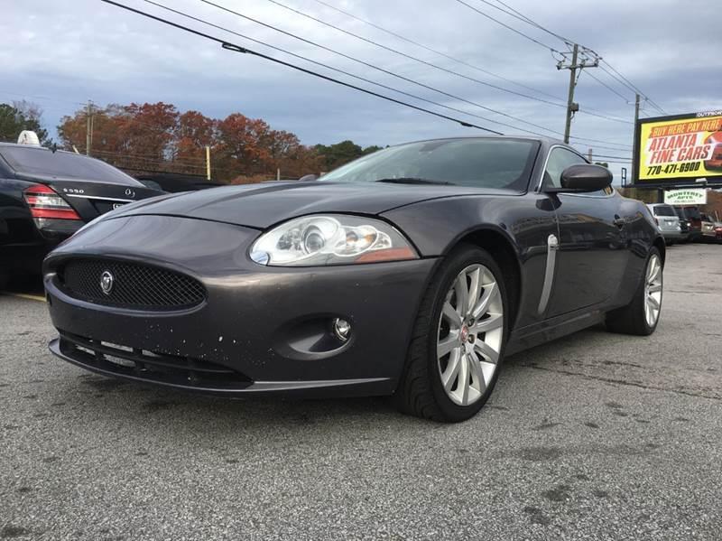 2008 Jaguar XK-Series for sale at Atlanta Fine Cars in Jonesboro GA