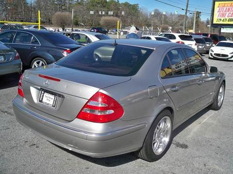 2006 Mercedes-Benz E-Class for sale at Atlanta Fine Cars in Jonesboro GA