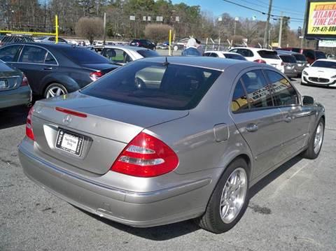 2006 Mercedes-Benz E-Class for sale at Atlanta Fine Cars in Jonesboro GA